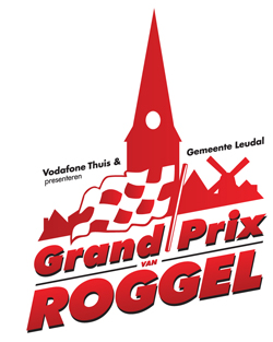 Asfalteren voor de Grand Prix van Roggel