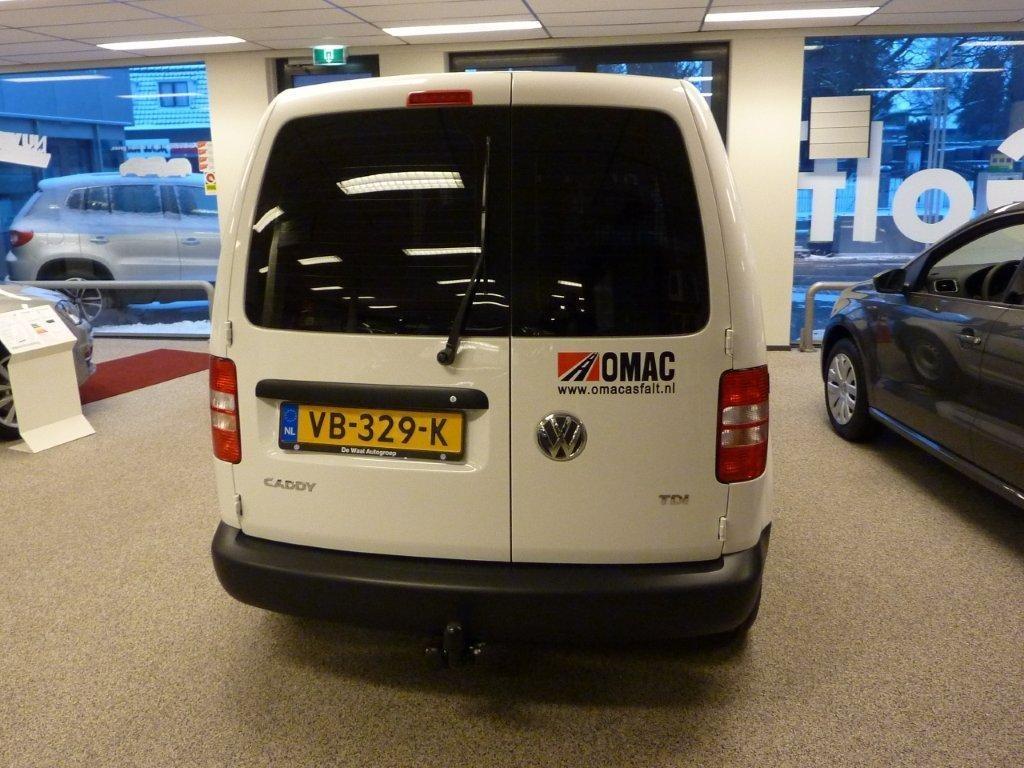 Nieuwe VW Caddy