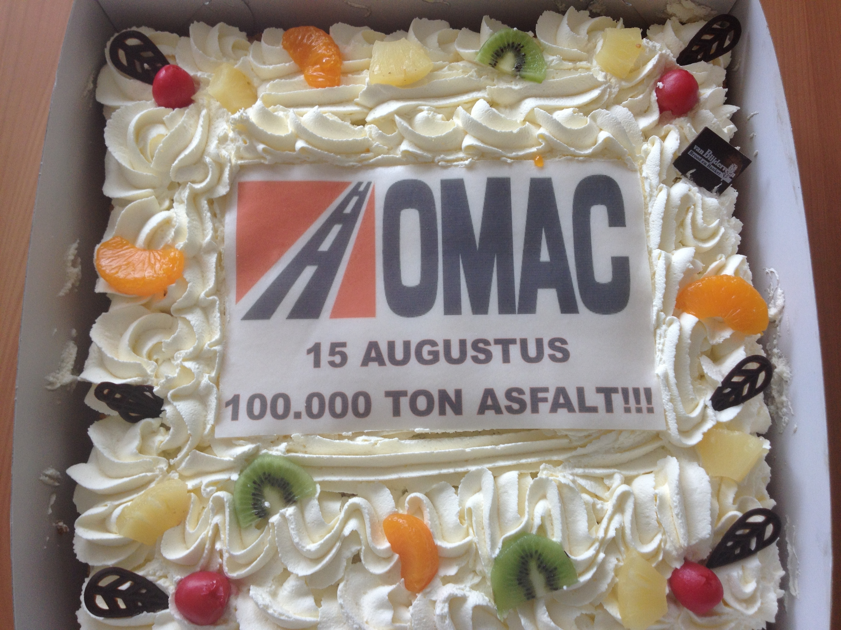 100.000 ton asfaltverwerking weer gerealiseerd